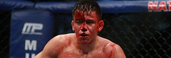 Bloodiest MMA fight of all time. | Sherdog Forums | UFC ...