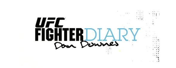 UFC Dan Downes Fighter Diary