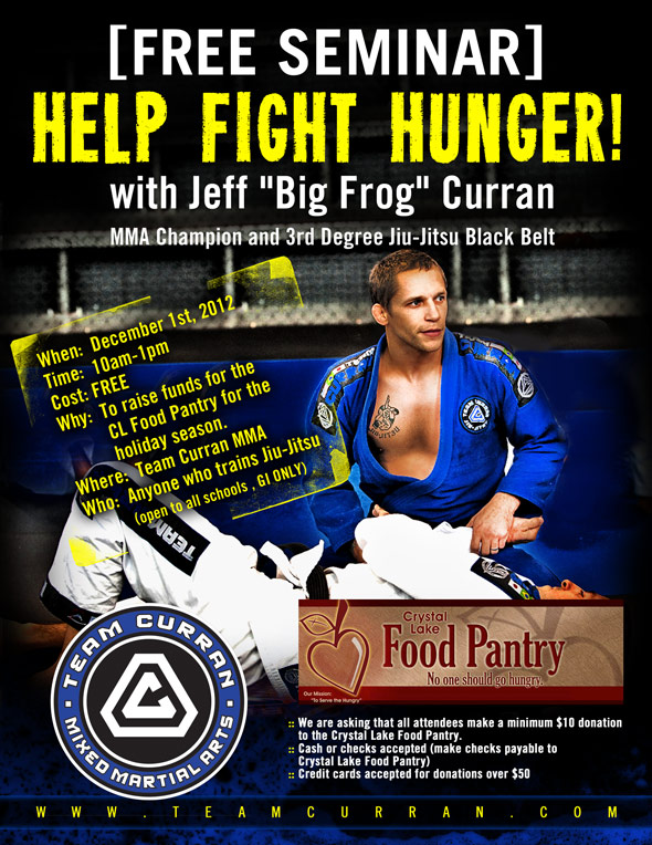 Jeff Curran Help Fight Hunger Seminar