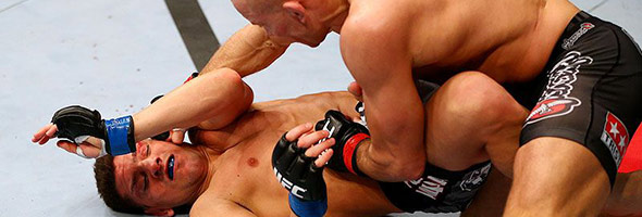 Nick DIaz vs. Georges St. Pierre