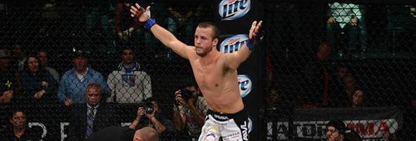 Pat Curran at Bellator 95