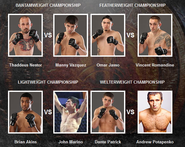 Praetorian title fights on May 25
