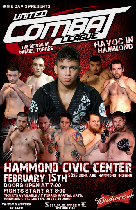 "United Combat League ""Havoc in Hammond"""